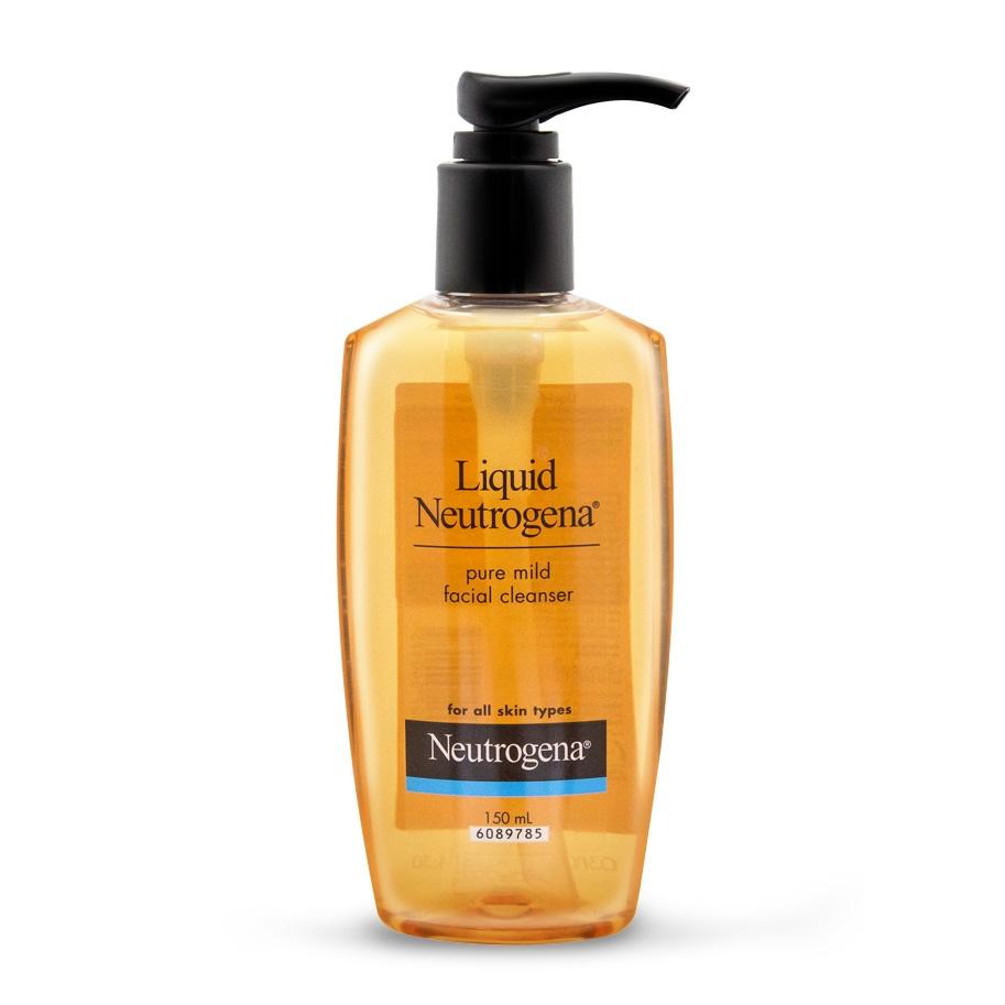 Liquid Neutrogena® Pure Facial Mild Cleanser