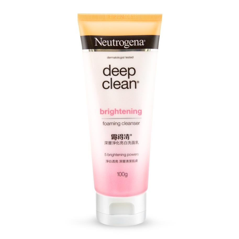 Neutrogena® Deep Clean Brightening Foaming Cleanser